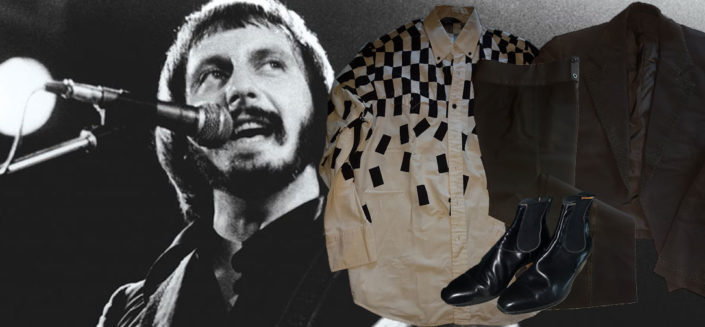 Original stage clothing as worn by John Entwistle in The Who